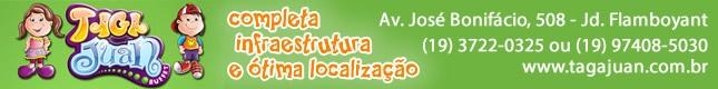 Banner Tagajuan em destaque